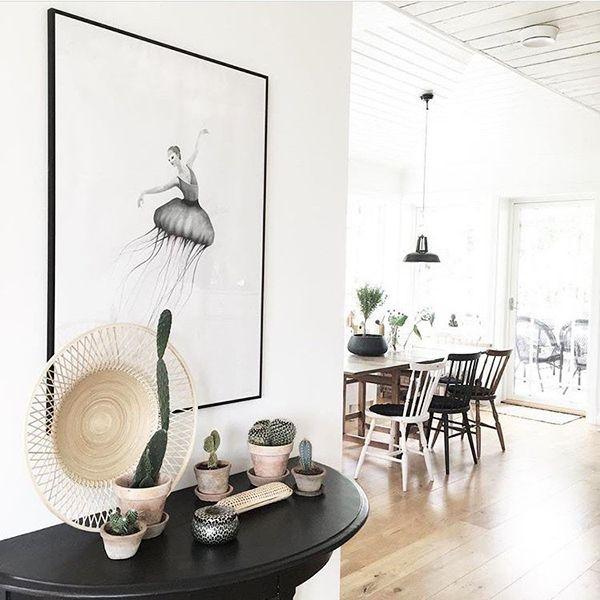 Ljuvligt #swart #jellydancer #homebysweden #heminredning #design #designklassiker #inredningsdetalj