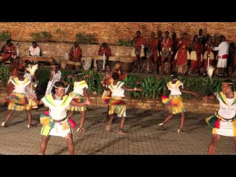 Dancers at Ndere center - Kampala, The home of cultures!