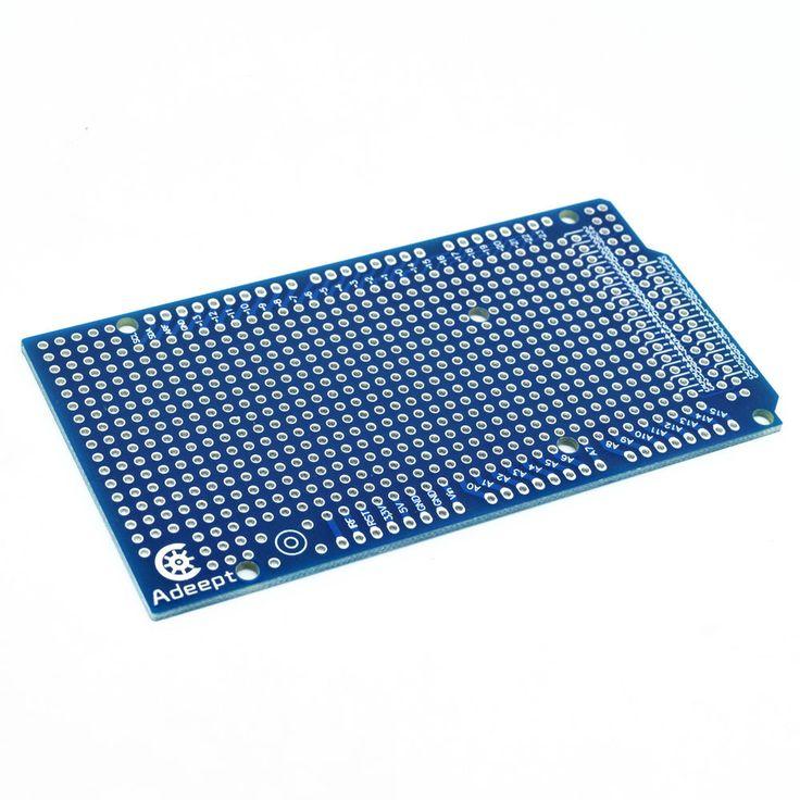 Adeept 10x Prototype PCB for Arduino Mega 2560 R3 Shield Board DIY #Adeept
