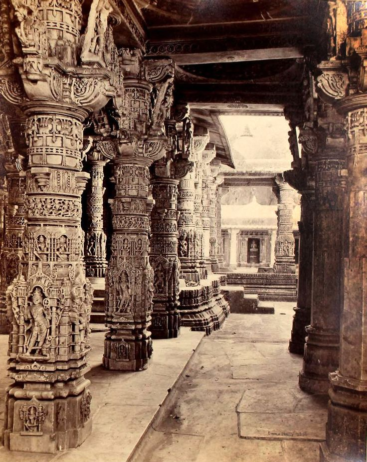 Inside the Jain Temple, Mount Abu