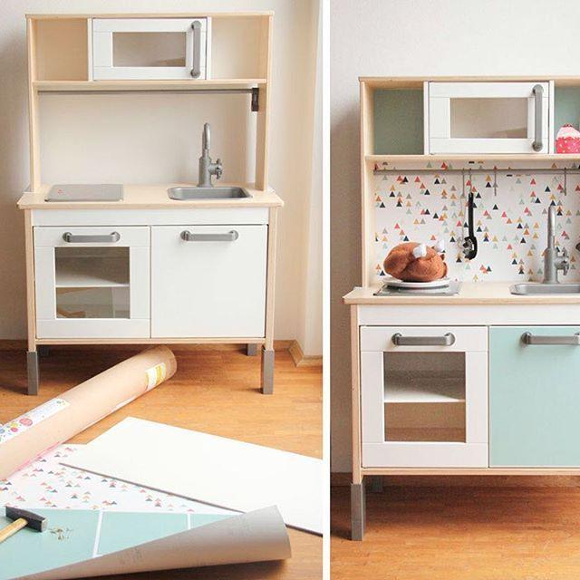 Ikea kinderküche hack  Ikea Kinderküche Gepimpt | gispatcher.com