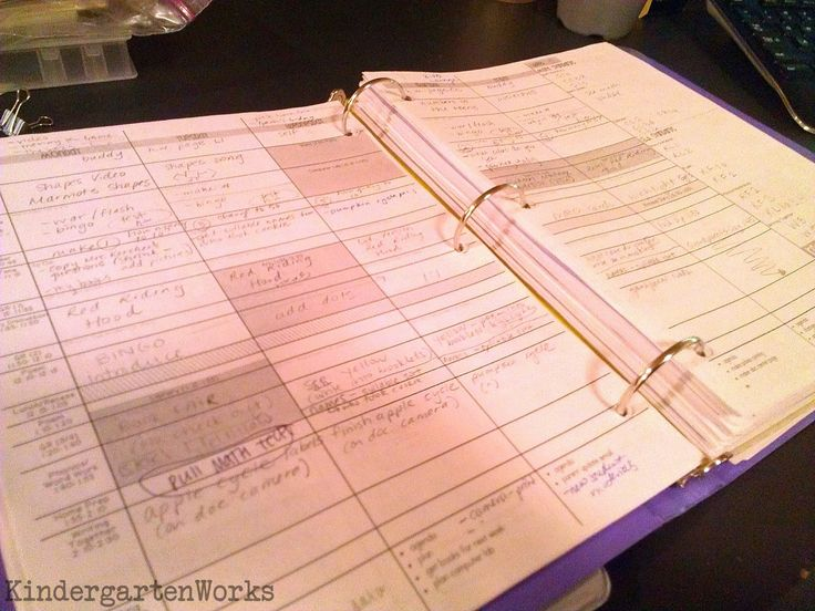 """Create your own lesson plan template - no more buying ones and writing in """"gym"""" every week!"""