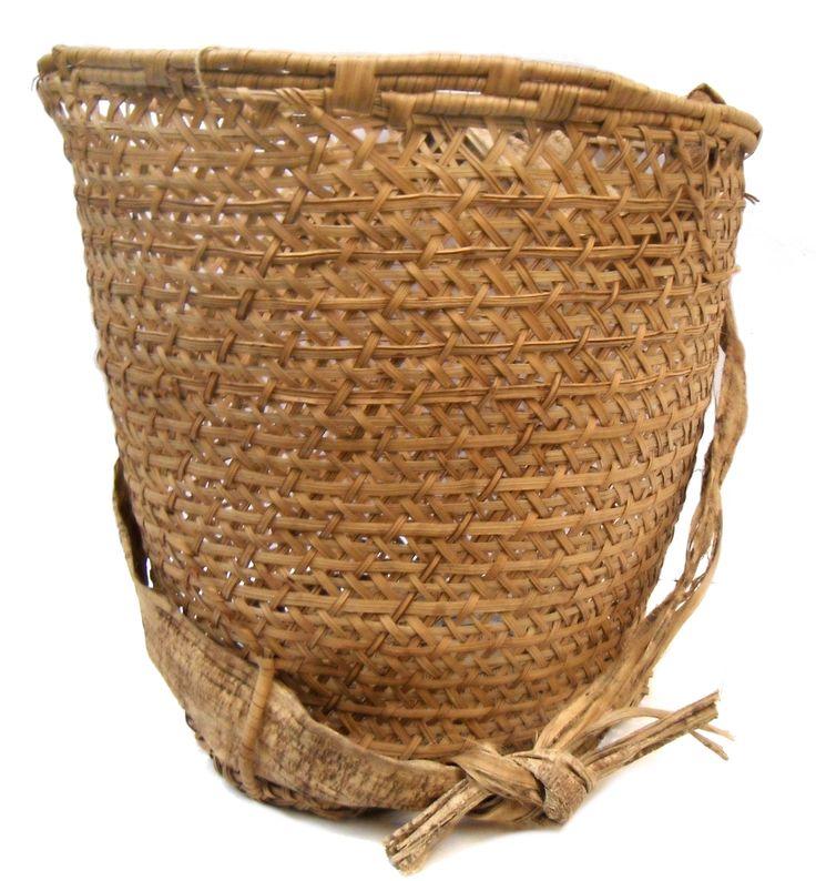cesto cargueiro etnia Yanomami - AM
