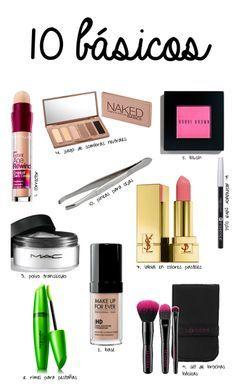 Aquí les dejo los básicos que toda mujer debe tener en su cosmetiquera