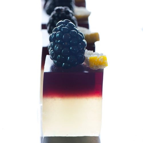Bramble Jelly Shot | Hostess with the Mostest | Pinterest