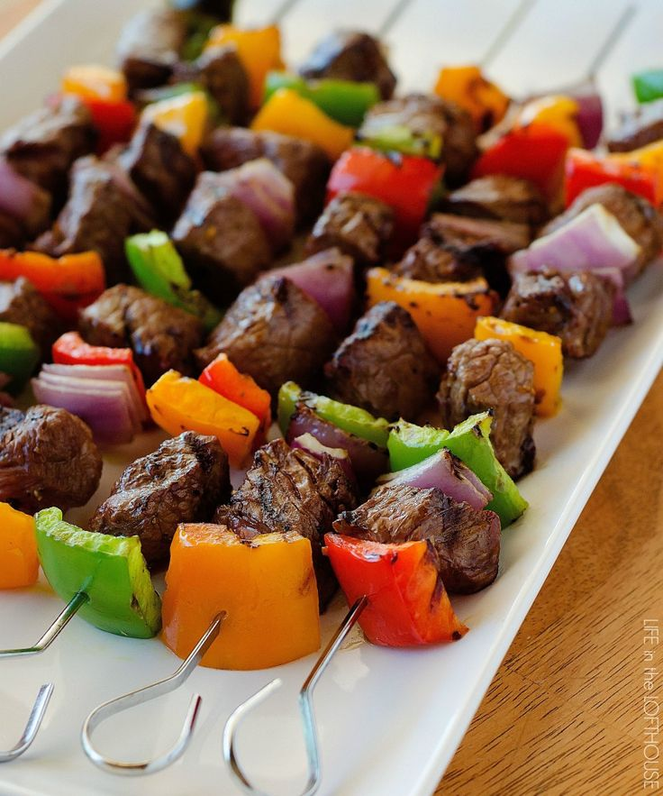 These steak kebabs are the best! The marinade is easy and amazing. #TargetCrowd #ad