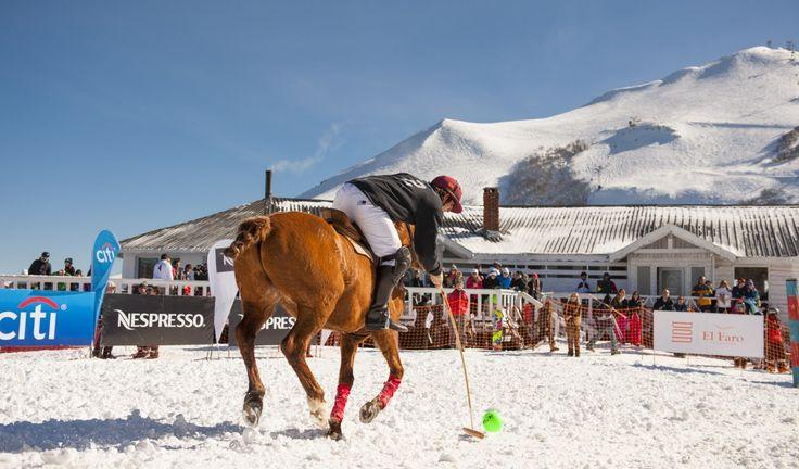 Estaciones de Esquí Polo en el Cerro Bayo