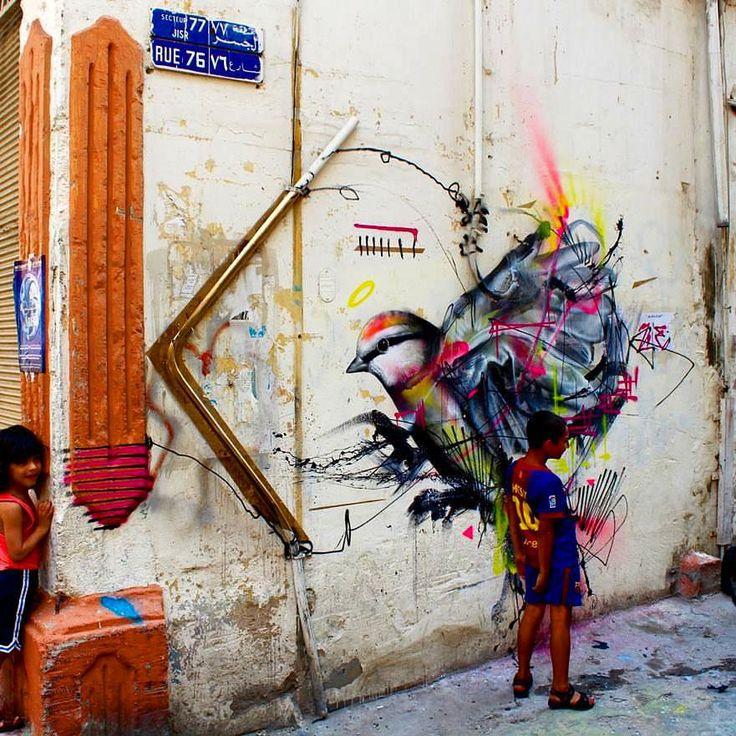 127 vind-ik-leuks, 3 reacties - @tschelovek_graffiti op Instagram: 'Работа @l7matrix в Бейруте (Ливан). #l7matrix #L7m #граффити_tschelovek #streetart #urbanart…'
