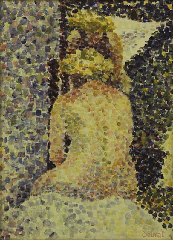 Nude, 1900s - Georges Seurat (1859–1891)