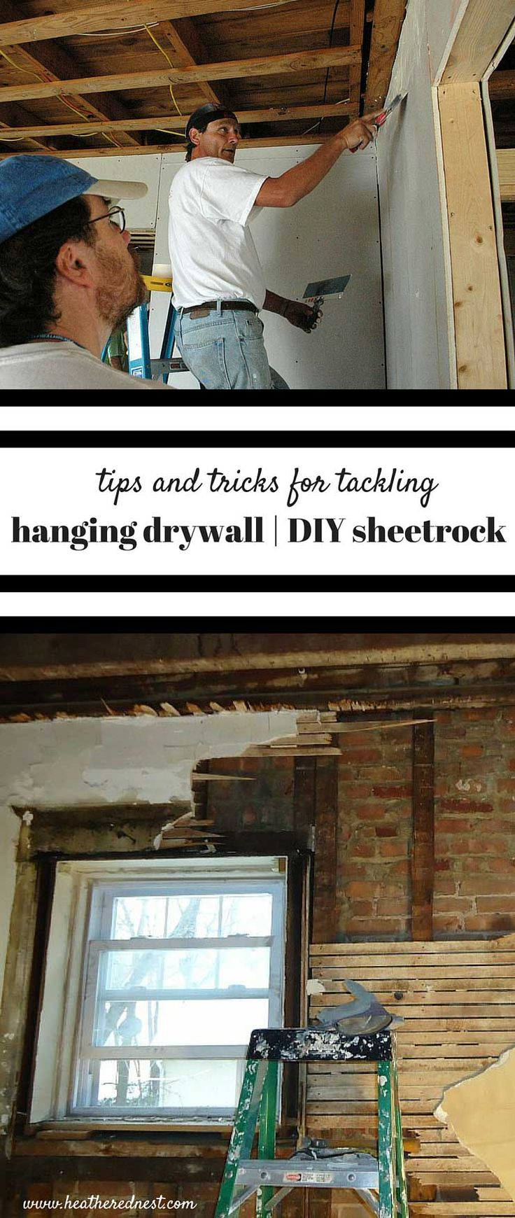 How to hang drywall on walls - Hanging Drywall Diy Sheetrock Is A Great Way To Save Money On Your Next Big