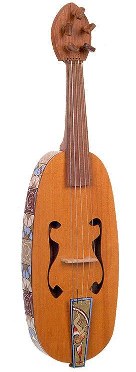 Medieval Musical Instruments | Vièle (vithele) - CMC 74-1277/S99-03/CD98-169