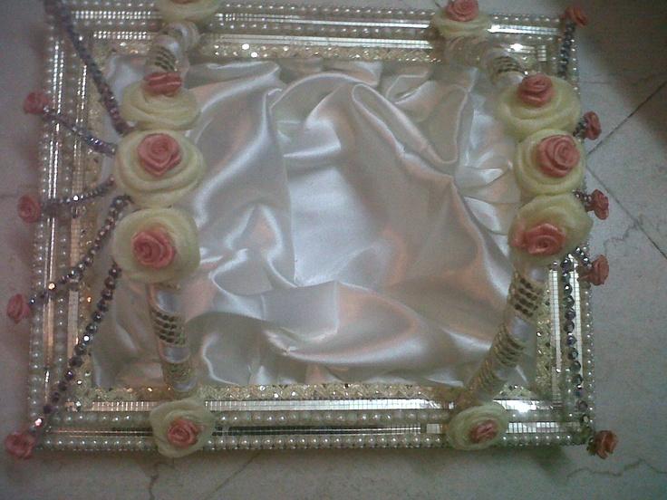 wedding trousseau shoe tray :D