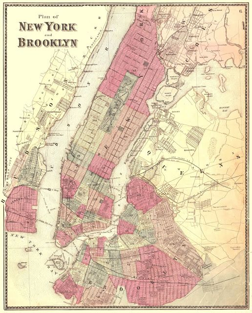 ARTEFACTS - antique images: New York - Brooklyn — for personal use only!
