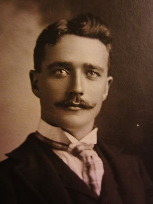 Handsome Dashing Young Man Victorian Cabinet Photo St Albans VT