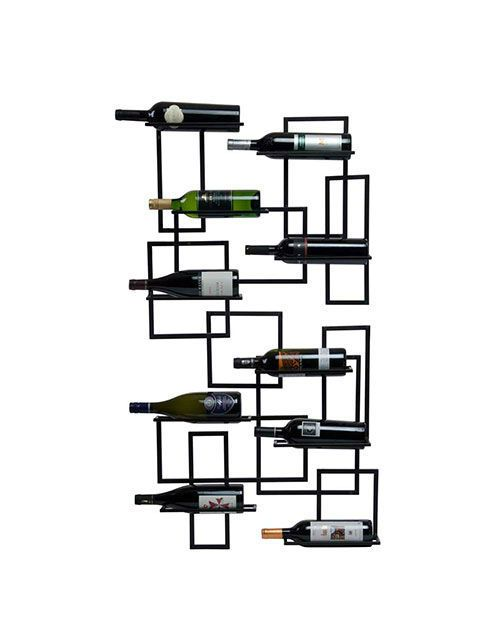 Mid-Century Wine Rack