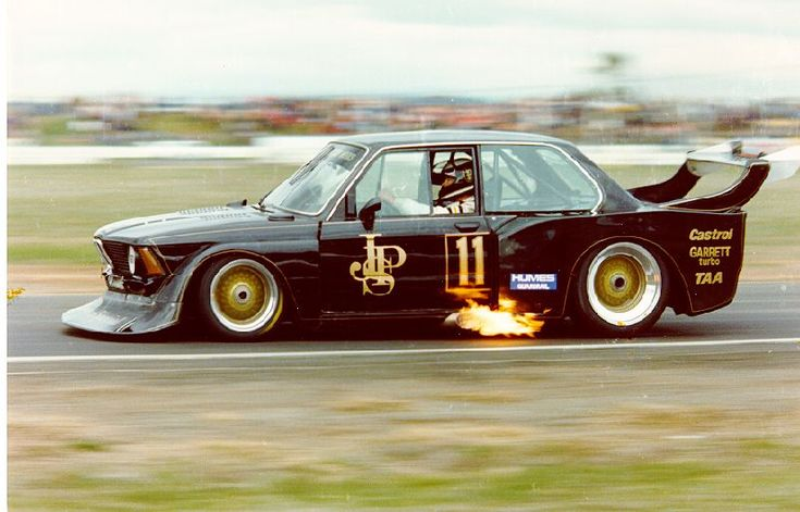 John Player Special BMW E21 318i Turbo of Australia's Jim Richards in 1983.