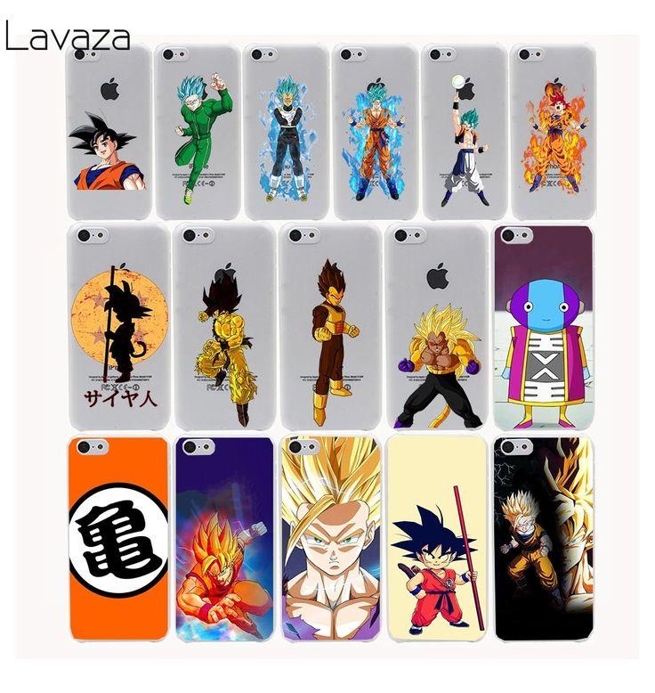 Dragon Ball Z  super sayan Hard Transparent Case Cover for iPhone 7 7 plus 4 4s 5 5s 5c SE 6 6s Plus // Price: $8.95 & FREE Shipping //    #anime #otaku