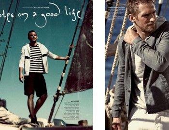 Ο Will απολαμβάνει βόλτες στην θάλασσα, παρουσιάζοντας ανδρικά ενδύματα, τζιν σε slim γραμμή, σοφιστικέ σακάκια και πουλόβερ, όσα χρειάζεται ένας άνδρας για το κομψό ναυτικό στιλ, σε λήψεις του Kalle Gustafson. Ο σχεδιαστής Neiman Marcus