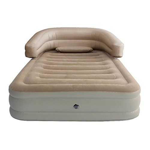 Ty Bei Inflatable Bed Household Single Double Padded Sofa Recliner Cushion Portable Air Bed S Izobrazheniyami