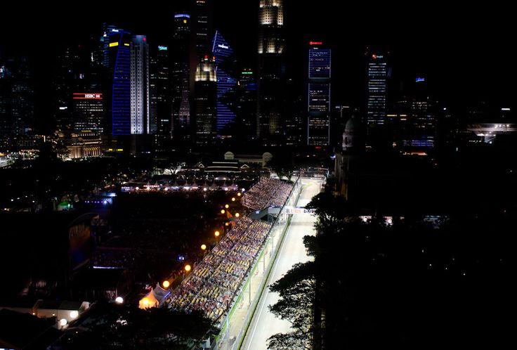 Mein erstes Formel 1 Rennen - Live beim Großen Preis von Singapur