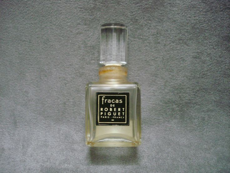 Sold - vendu - Keramis - Ebay - Flacon parfum Robert Piguet Fracas vintage french perfume bottle - sold / vendu