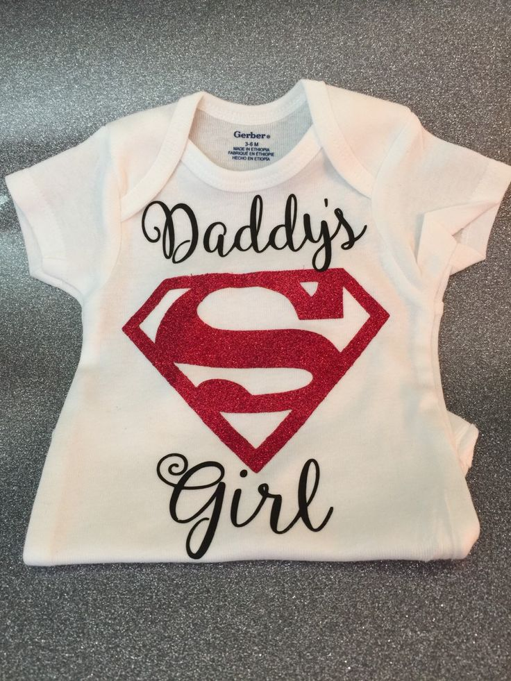 Superman, onesie, daddy's girl, mommy's girl, glitter onesie, baby shower gift, baby girl, baby, baby girl onesie, onesie, bodysuit, glitter by EllaRuseBoutique on Etsy (null)