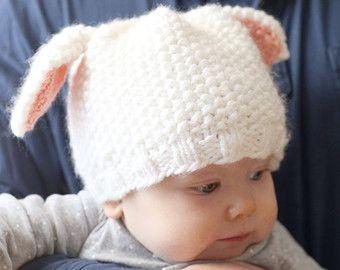 Punto arco bebé tejer patrón patrón del por LittleRedWindow