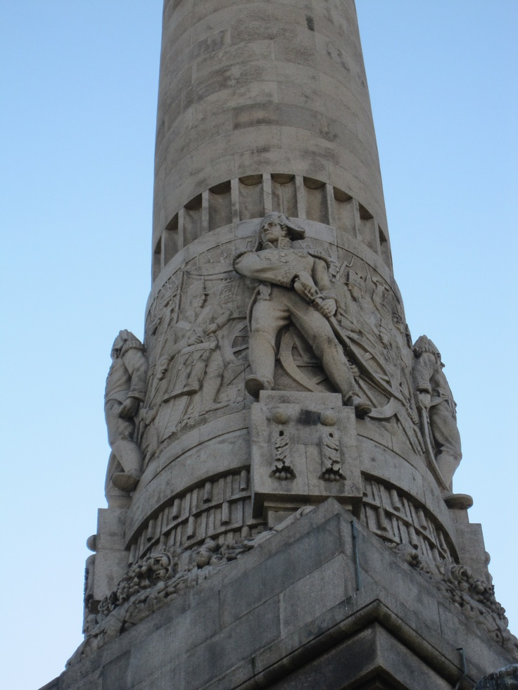 Another detail of the Heroes of the Peninsular War Monument.