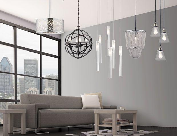 If you can't decide wich one to take, take them all! | Si vous ne savez pas laquelle choisir, choisissez les toutes! #lighting #lumiere #decor #inspiration