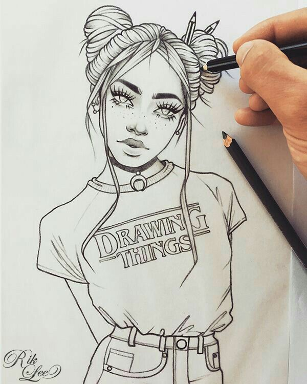 you can see all the drawings of people that i post
