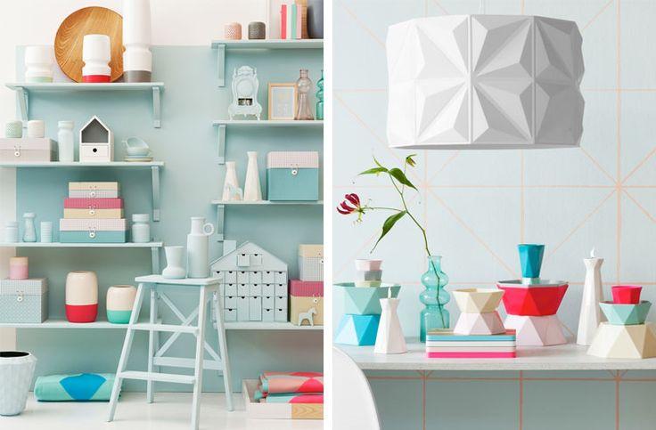 Al een tijd aan het kijken voor planken aan de muur. Goed idee om de planken in dezelfde kleur als de muur te schilderen.