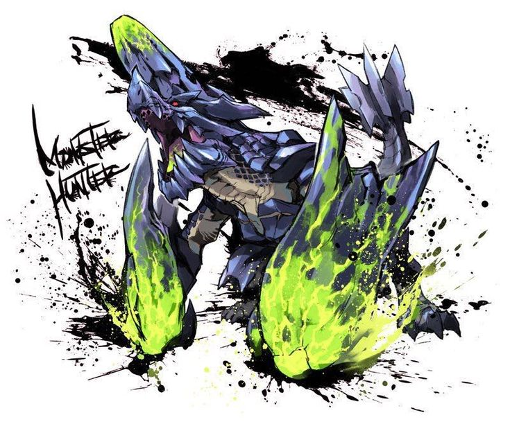 Monster Hunter Fanart - Brachydios