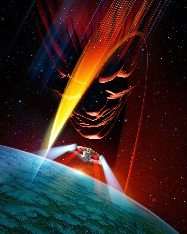 Star Trek VI textless movie poster