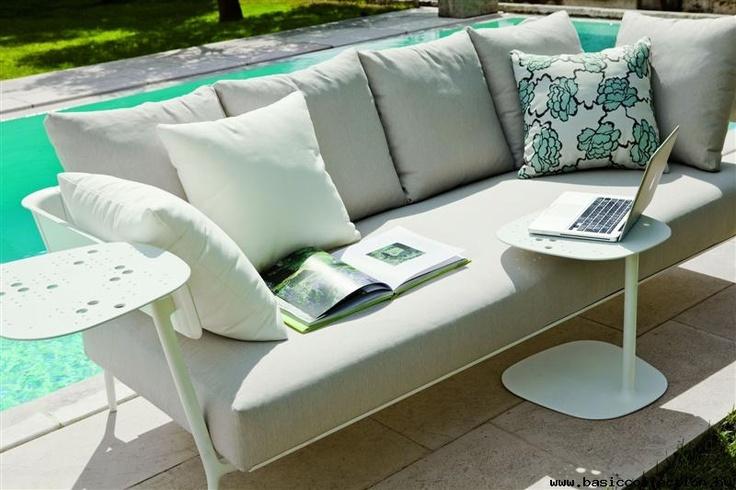 Basic Collection, Aikana 203B #outdoor #sofa #furniture #design #upholstery #cushion