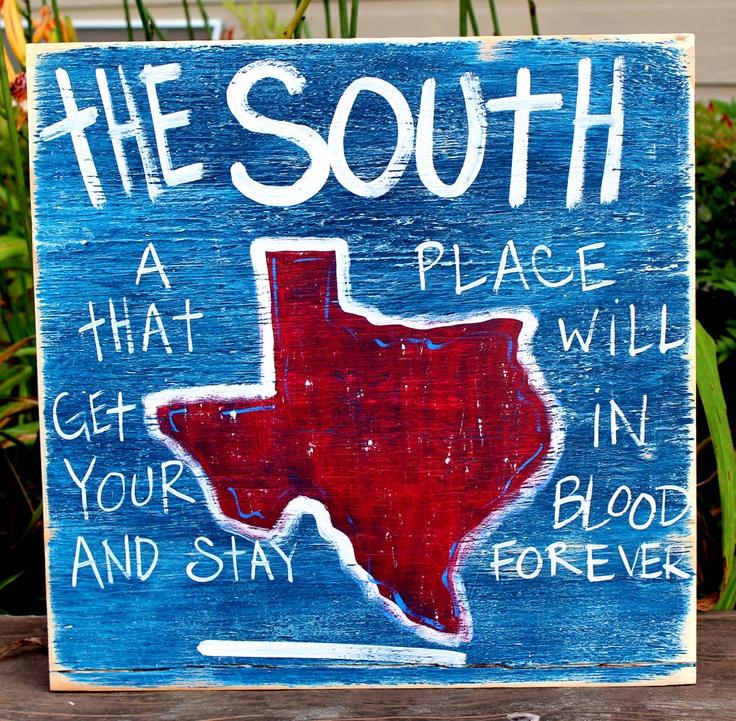 Southern pride.