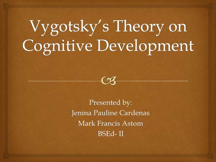 Vygotsky's Cognitive development