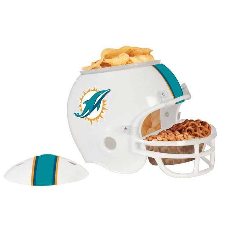 MIAMI DOLPHINS FULL SIZE SNACK HELMET BRAND NEW SHIPPING