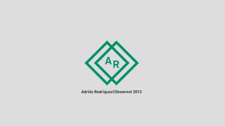Showreel 2013 - Adrian Rodriguez