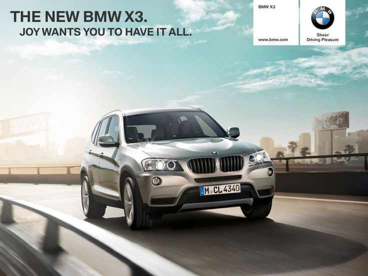 BMW X3 iPad App - Clickable Demo