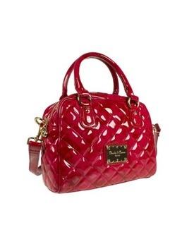 Pink Claudia Canova Dual Strap Quilted Handbag, Debenhams