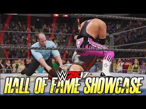 WWE 2k17 Hall of Fame DLC - Sting vs Bret Hart - Halloween Havoc HD PS4 ...