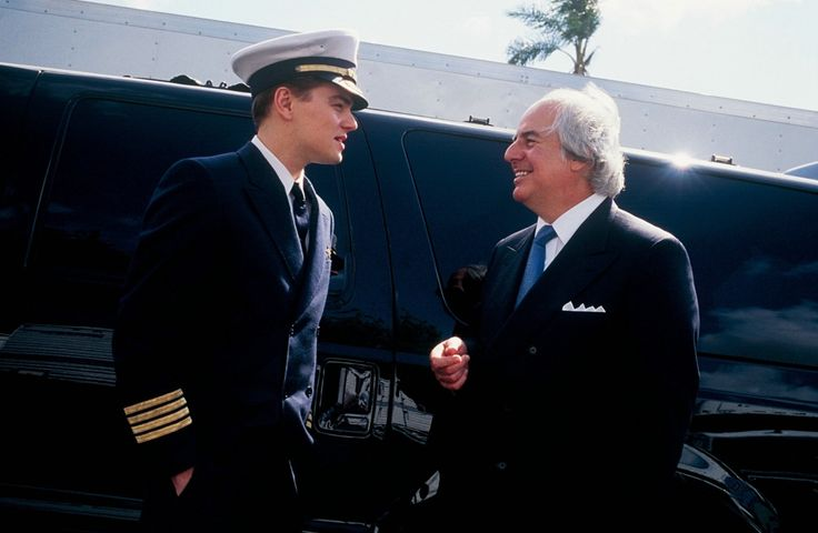 Leonardo DiCaprio and Frank Abagnale Jr. in Catch Me If You Can (2002)