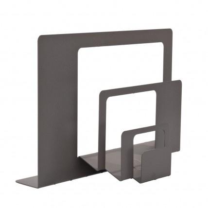 folded sheet metal letter holder