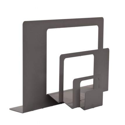 folded sheet metal letter holder