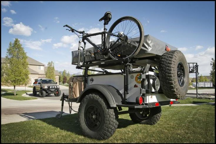 Homemade Off-Road Trailers | Thread: Box Rocket Homemade trailer build.