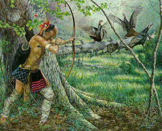 Jack Paluh - Eastern Indian Artwork Woodland Encounter kp