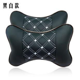 Автомобиль подголовник подушка для шеи подушки автомобиль пространство кожа вышивка kaozhen автомобиль подушку