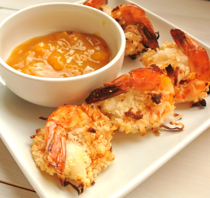 baked coconut shrimp weigh watcher points 4Baking Coconut, Fish Seafood, Shrimp Dinner, 15 Minute, Weights Watchers, Coconut Shrimp Recipes, Dips Sauces, Dipping Sauces, Points Plus
