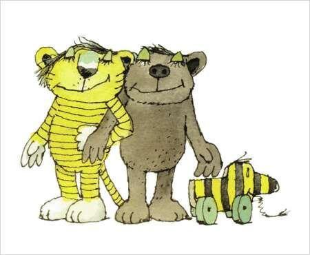 Der Tiger, der Bär und die Tigerente