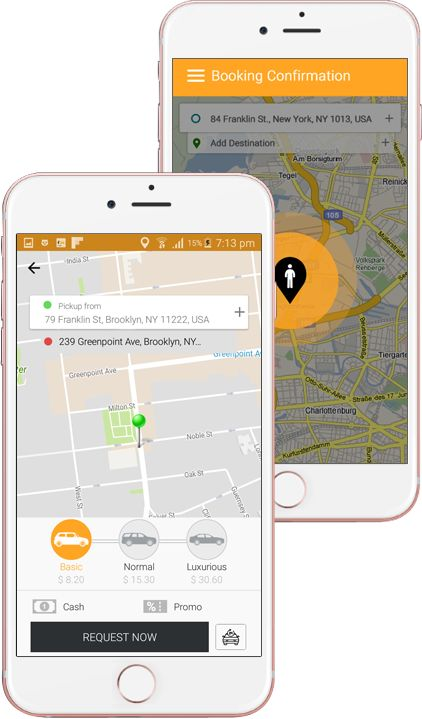 Essential Passenger and Driver App Features for a taxi Booking App
